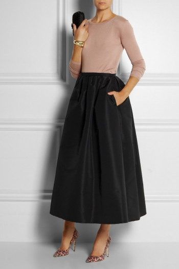 Taffeta Skirts Dressed Up Girl
