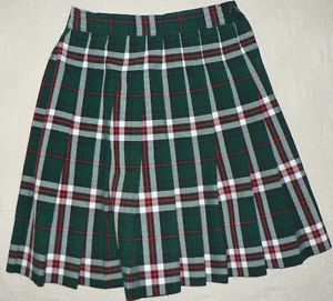 Green Plaid Skirt Images