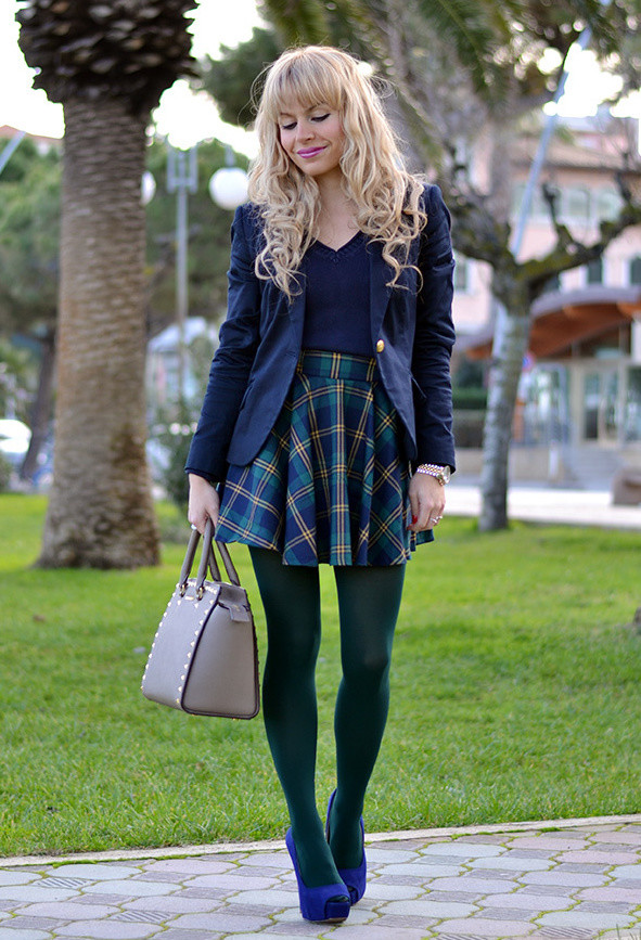 Green Plaid Skirts | Dressed Up Girl