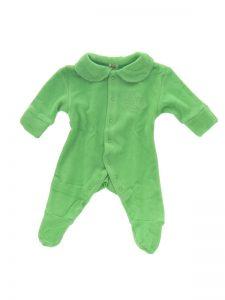 Green Romper Baby