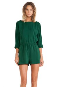 Green Rompers