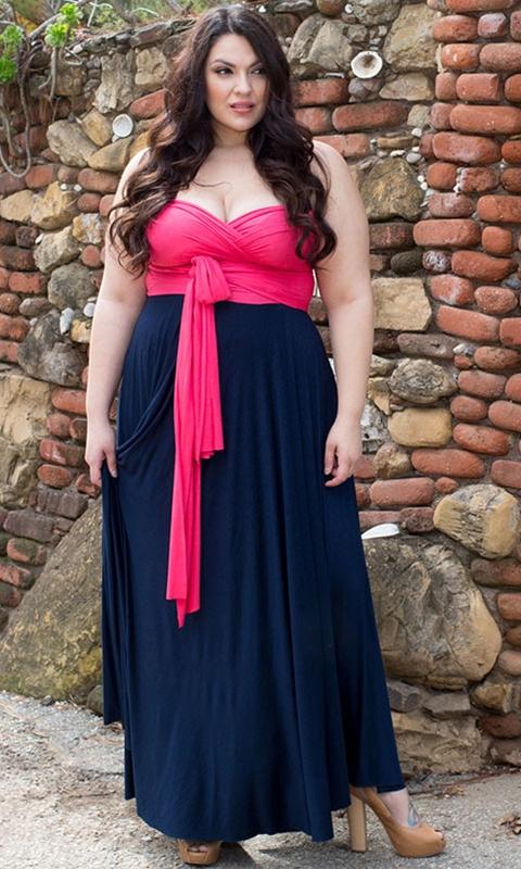 Plus Size Infinity Dress Dressed Up Girl