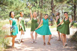 Infinity Wrap Dress Bridesmaid