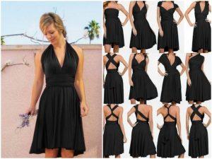 Infinity Wrap Dress Tutorial