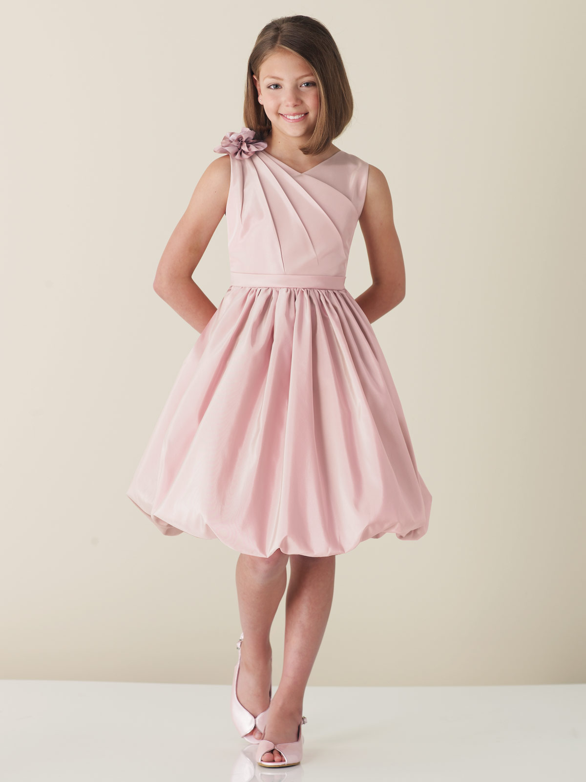 Junior Bridesmaid Dresses - Dressed Up Girl