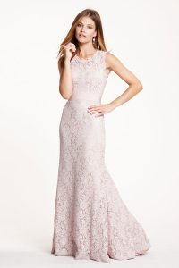 Lace Bridesmaid Dresses Long