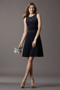 Lace Bridesmaid Dresses Short