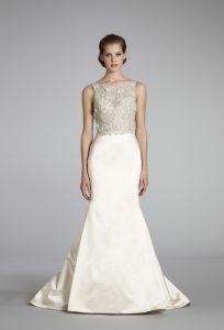 Lace Top Bridesmaid Dresses