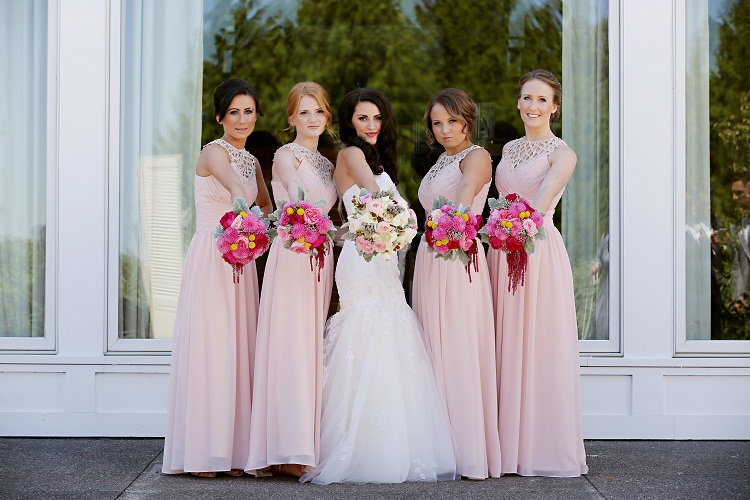 Pink Bridesmaid Dresses | Dressed Up Girl