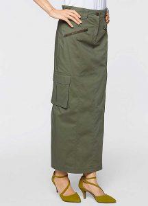 Long Cargo Skirt