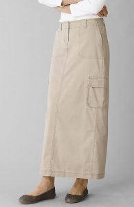 Long Cargo Skirts