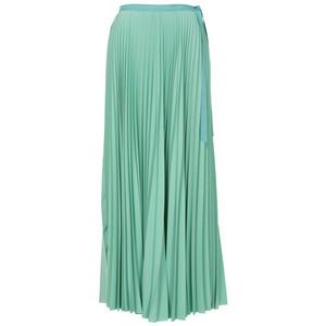 Long Maxi Pleated Skirt