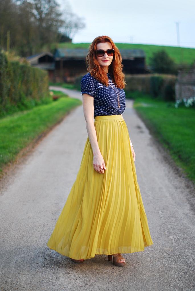 Look- Cómo usar vestidos y faldas