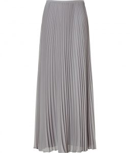 Long Pleated Skirt Pattern