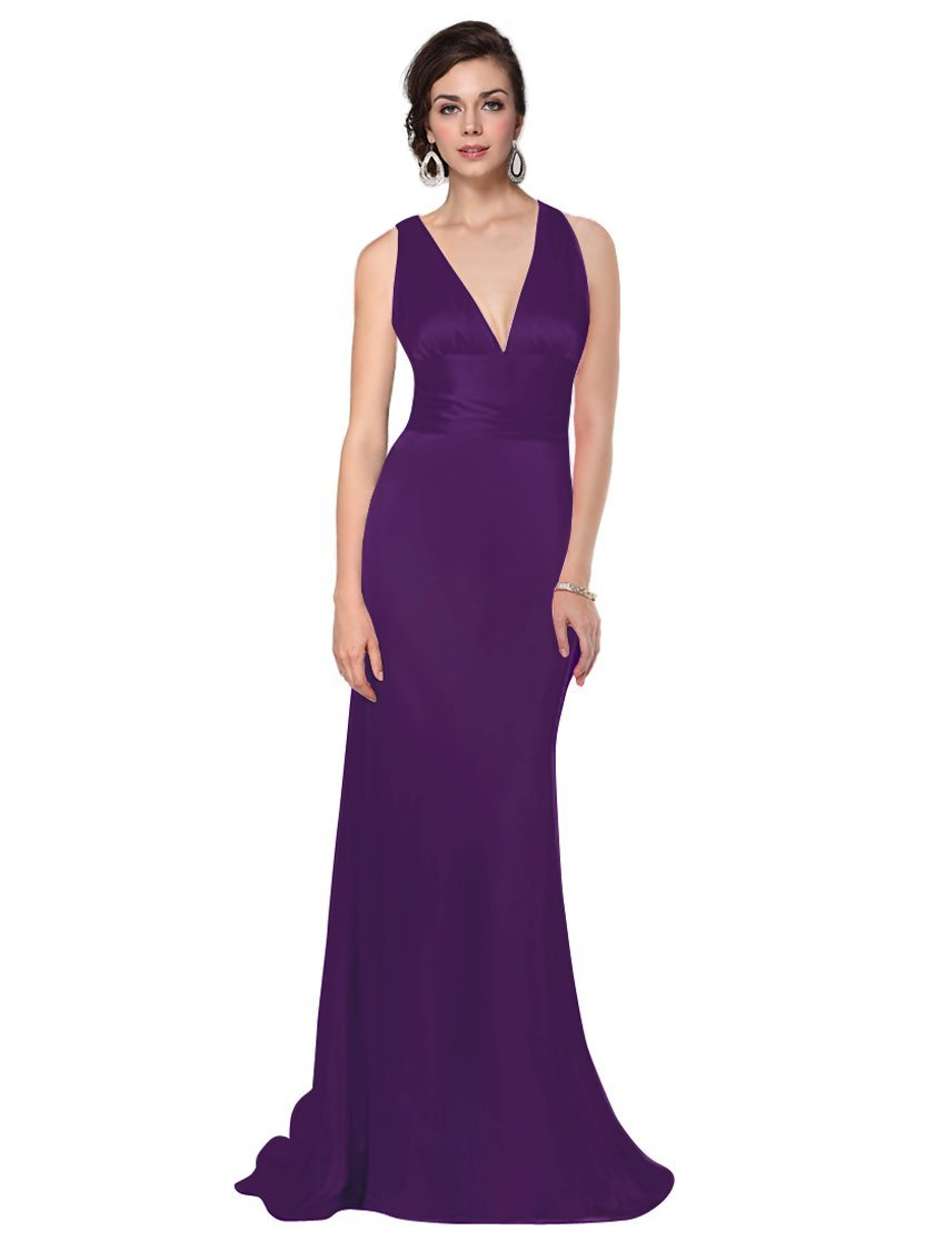 Bridesmaid Dresses In Purple