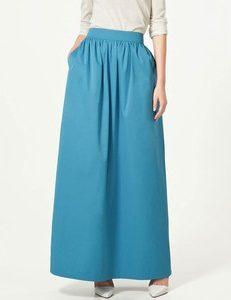 Long Taffeta Skirts