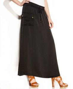Maxi Cargo Skirt