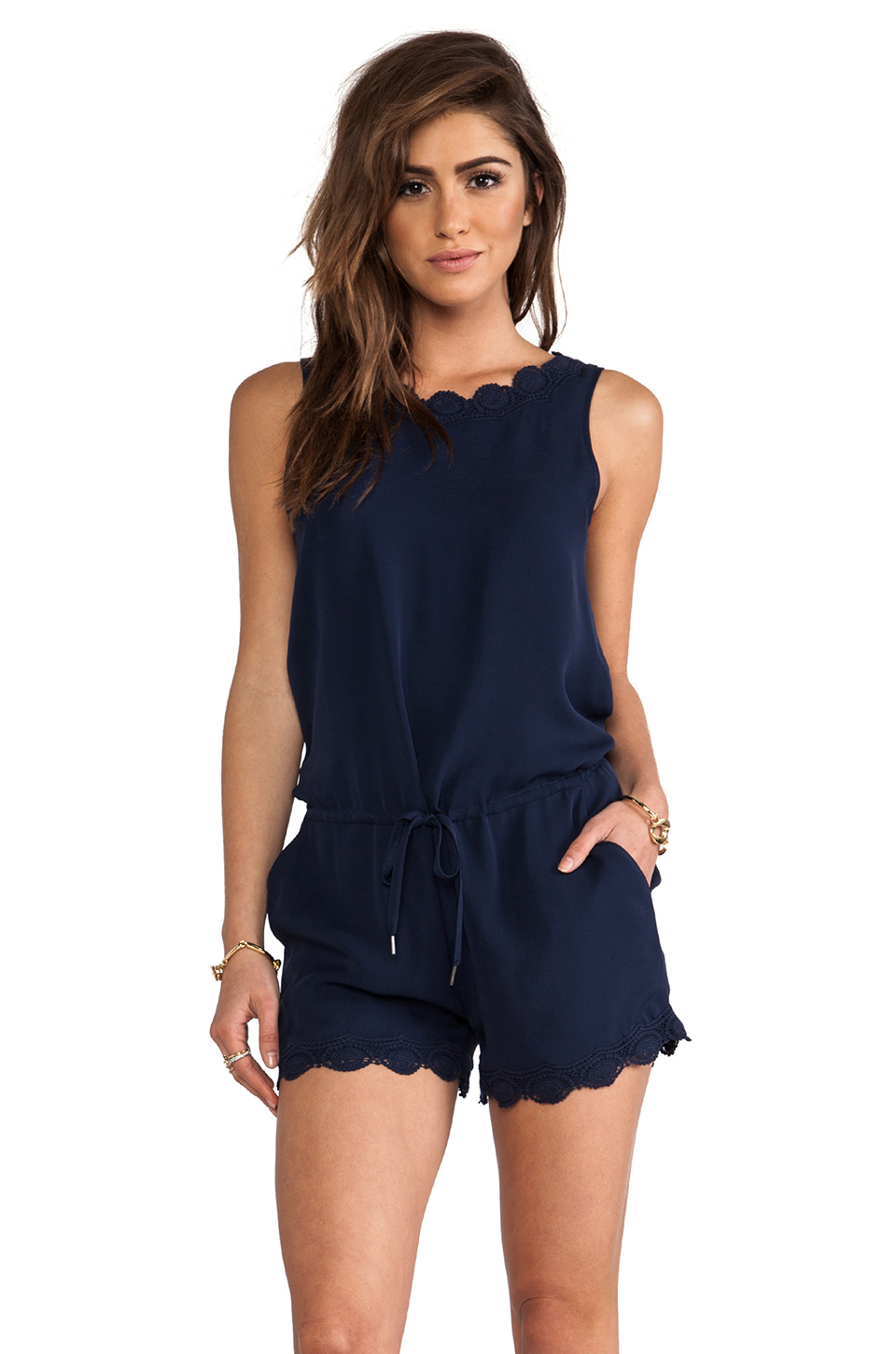 Blue Rompers | Dressed Up Girl