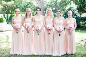 Petal Pink Bridesmaid Dresses