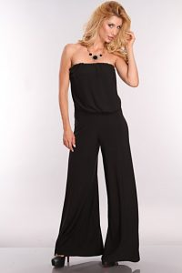 Pictures of Black Strapless Jumpsuit