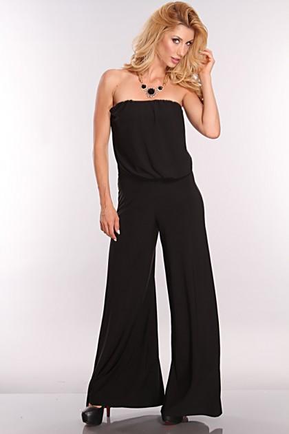 Black Strapless Jumpsuits Dressedupgirl Com
