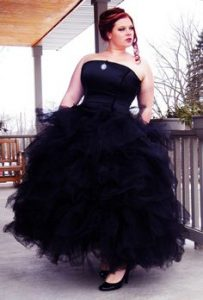 Plus Size Black Bridesmaid Dresses