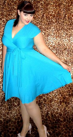 Infinity dress for plus size