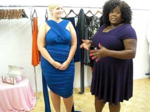 Plus Size Infinity Dress Pictures