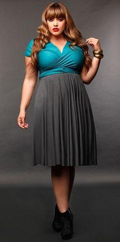 Plus Size Infinity Dress | DressedUpGirl.com