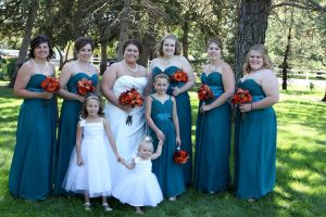 Plus Size Teal Bridesmaid Dresses