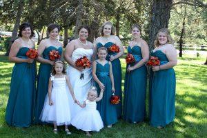 Plus Size Teal Bridesmaid Dresses