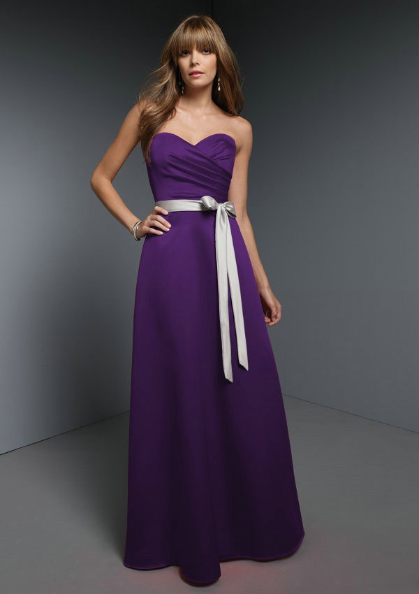 Purple bridesmaid dresses dressed up girl for Wedding dresses with purple