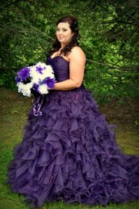 Purple Plus Size Bridesmaid Dresses