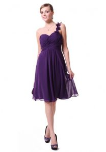 Purple Short Bridesmaid Dresses