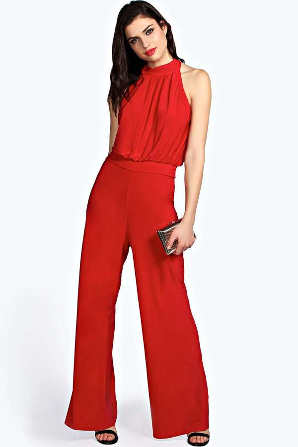 Red Jumpsuit Clothing Photo Album - Reikian
