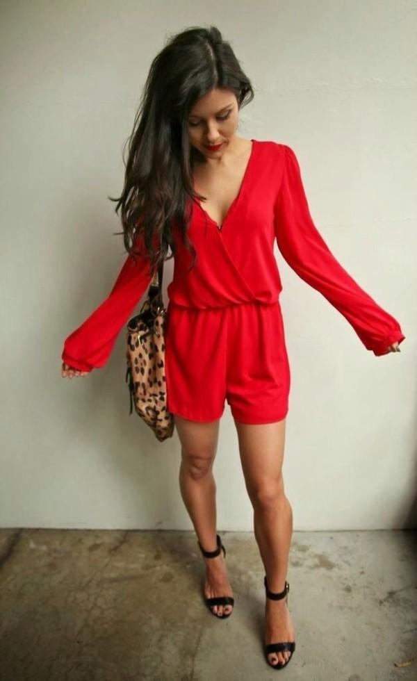 short jumpsuits dressed up girl