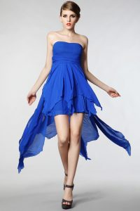 Royal Blue Short Bridesmaid Dresses
