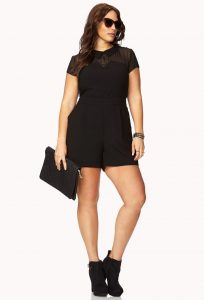 Short Rompers Plus Size