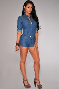 Short Rompers for Women