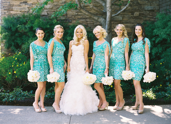 Turquoise Bridesmaid Dresses | Dressed Up Girl