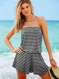 Strapless Rompers for Women