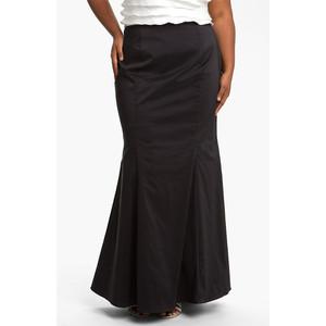 Taffeta Skirt Plus Size