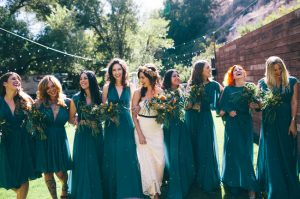 Teal Green Bridesmaid Dresses