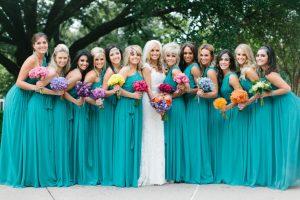 Turquoise Bridesmaid Dress