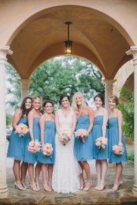Turquoise Bridesmaids Dress