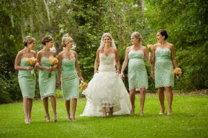 Vintage Lace Bridesmaid Dresses