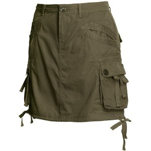 Womens Cargo Skirts