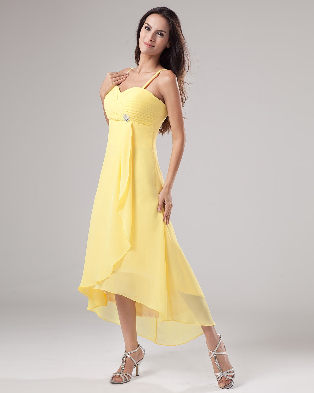Yellow Bridesmaid Dresses Dressedupgirl Com