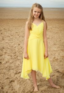 Yellow Junior Bridesmaid Dresses