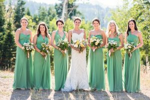 Bridesmaid Dresses Green